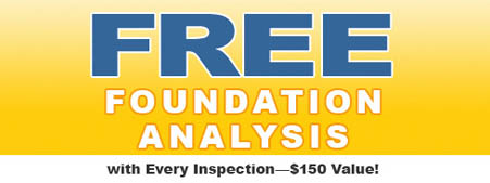 wp foundation Analysis by A-Pro home inspections in Plano TX it's a major Difference